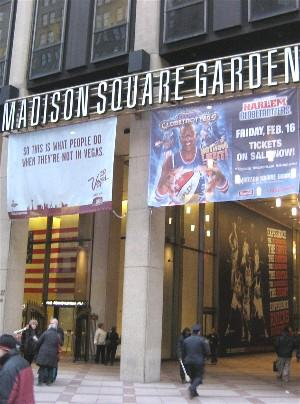 Secondsout boxing news main features history of - History of madison square garden ...