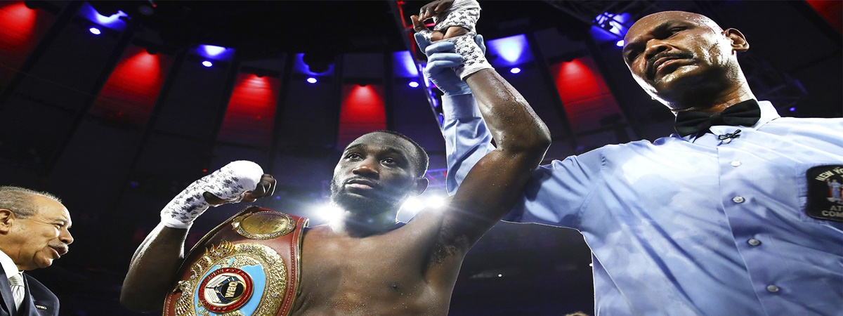 Terence Crawford Wins By Stoppage Over Amir Khan In Fight Marred By Low Blow