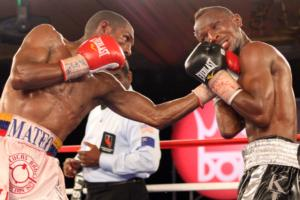 Agbeko looked impressive against Perez (pic Tom Casino)