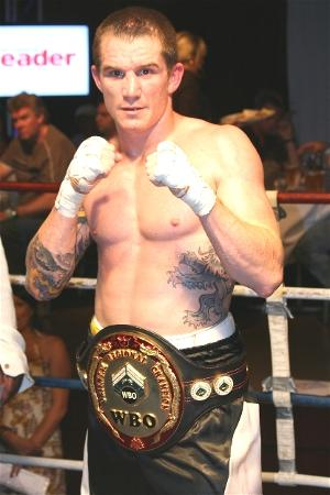WBO Oriental junior middleweight champion Ryan Waters