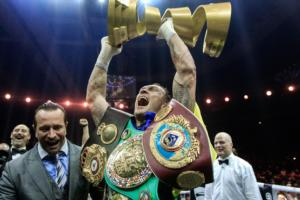 SecondsOut Fighter Of The Year, 2018: Oleksandr Usyk