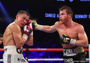 SecondOut Fight Of The Year, 2018: Alvarez Vs Golovkin ll