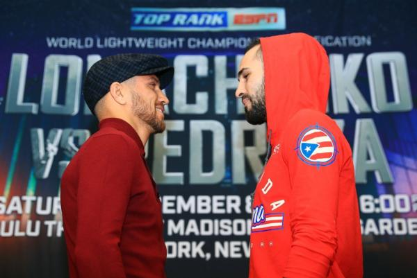 Lomachenko And Pedraza Fully Prepared For Unification Battle