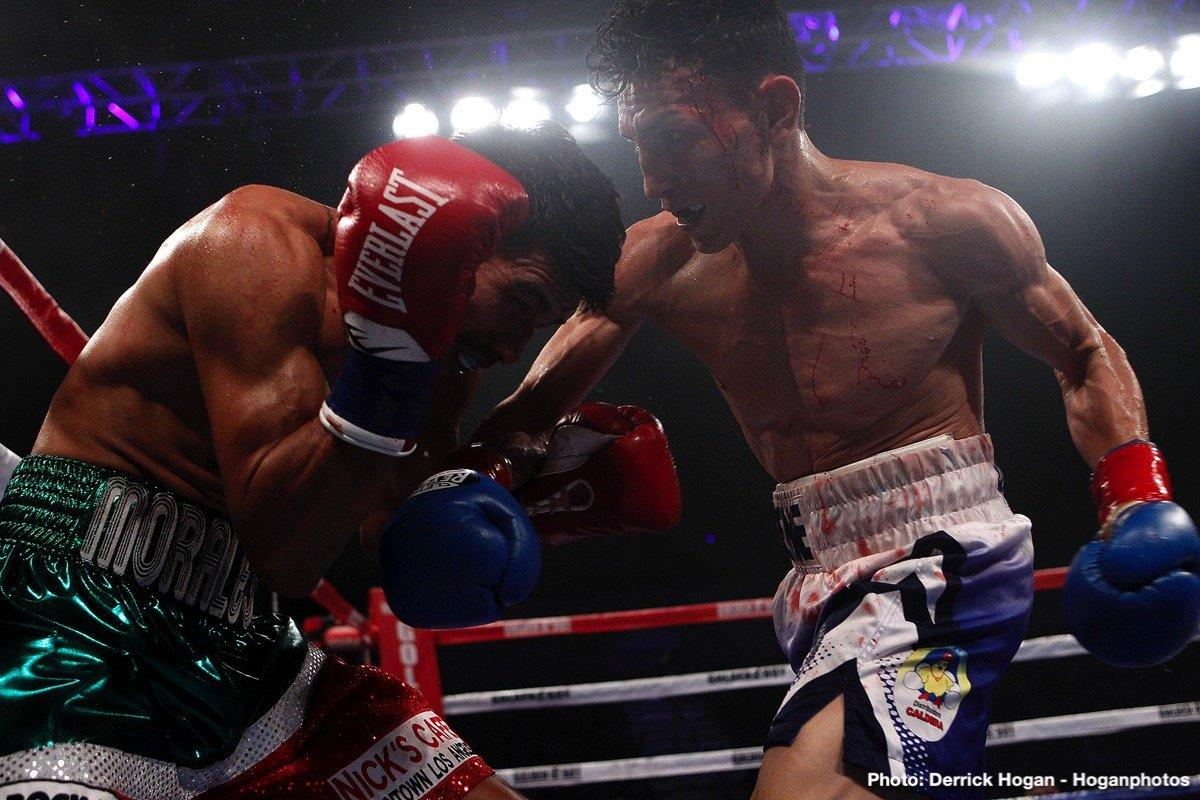 Rene Alvarado Defeats Carlos Morales In Title Eliminator