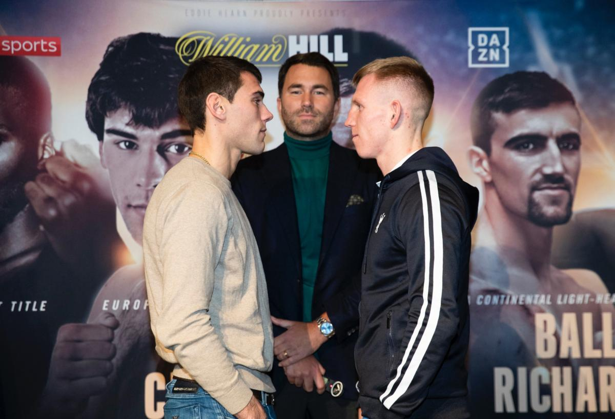 Garcia Vs Cheeseman, Undercard Press Conference Quotes From London