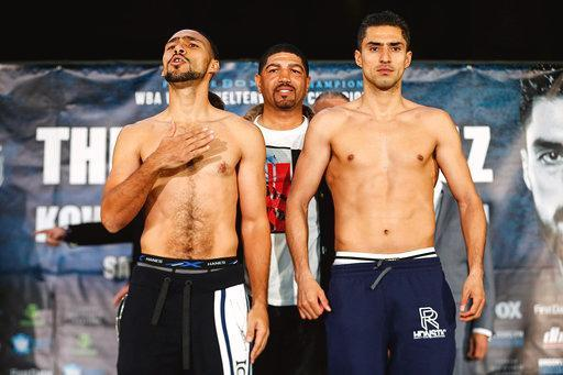 Thurman And Lopez Make Weight