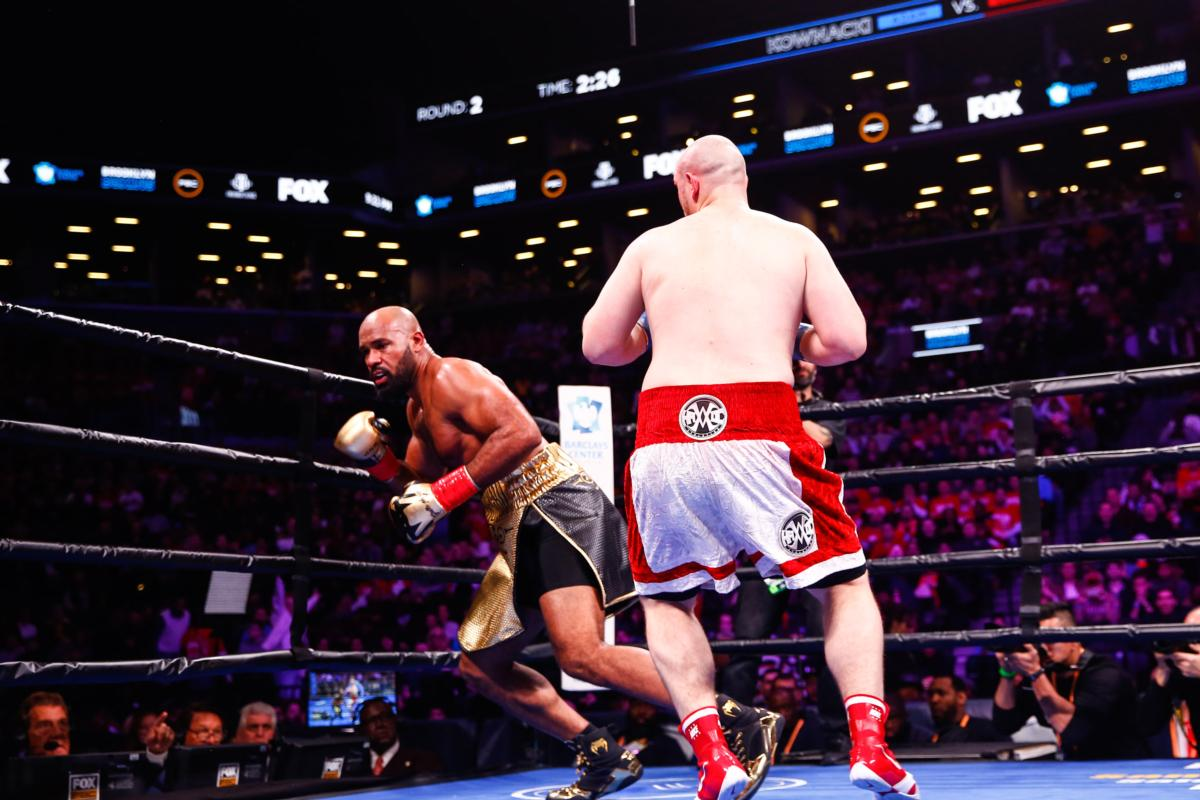 Adam Kownacki takes out Gerald Washington In two, Tugstsogt Nyambayar remains unbeaten