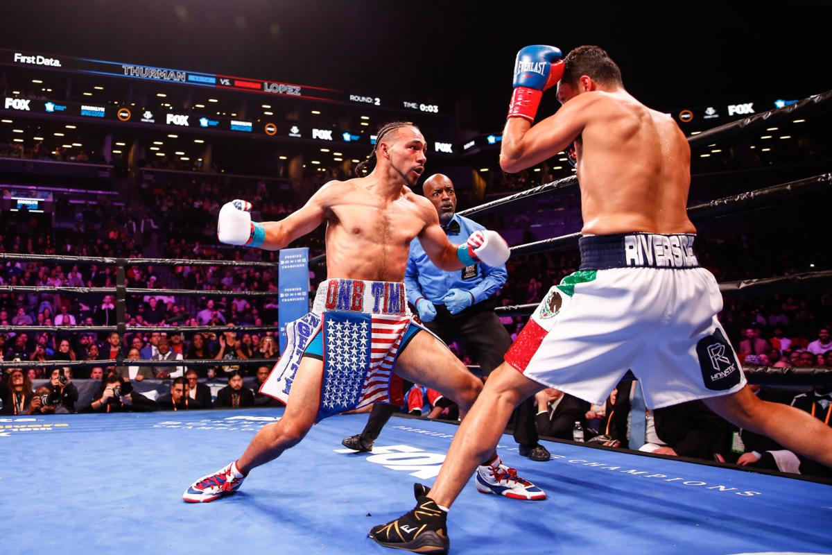 Thurman Edges Out Lopez And Targets 'Pac Man'