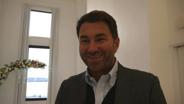 Eddie Hearn EXCLUSIVE: I DON'T GET ANGRY with Anthony Joshua negotiations