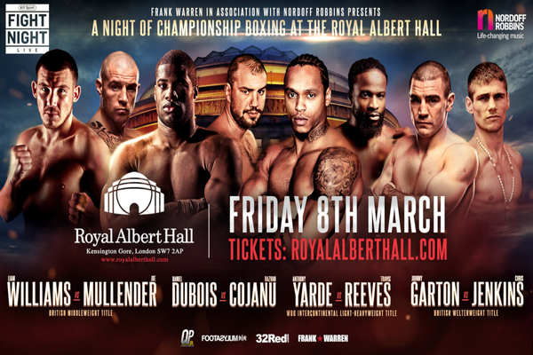 Yarde & Dubois Both Victorious At Albert Hall