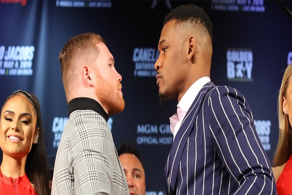 Canelo Alvarez-Daniel Jacobs press conference