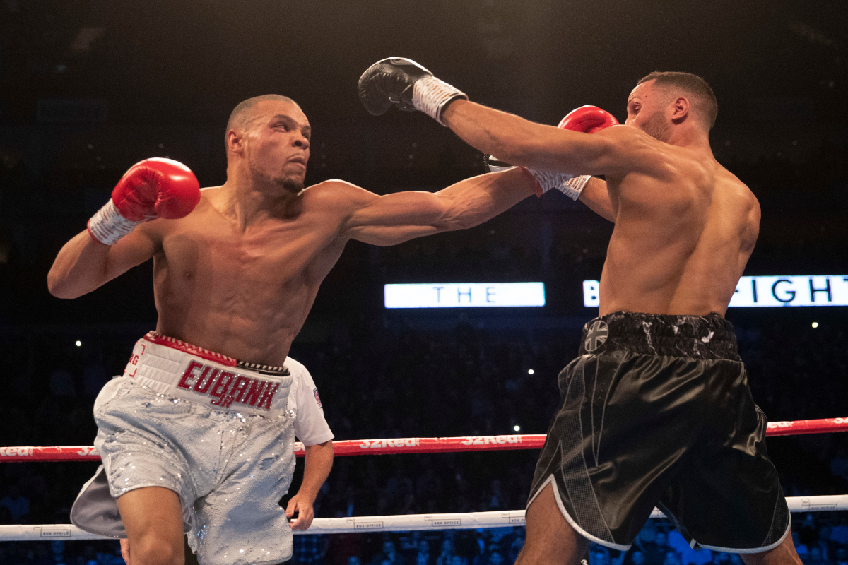 Chris Eubank defeats James DeGale