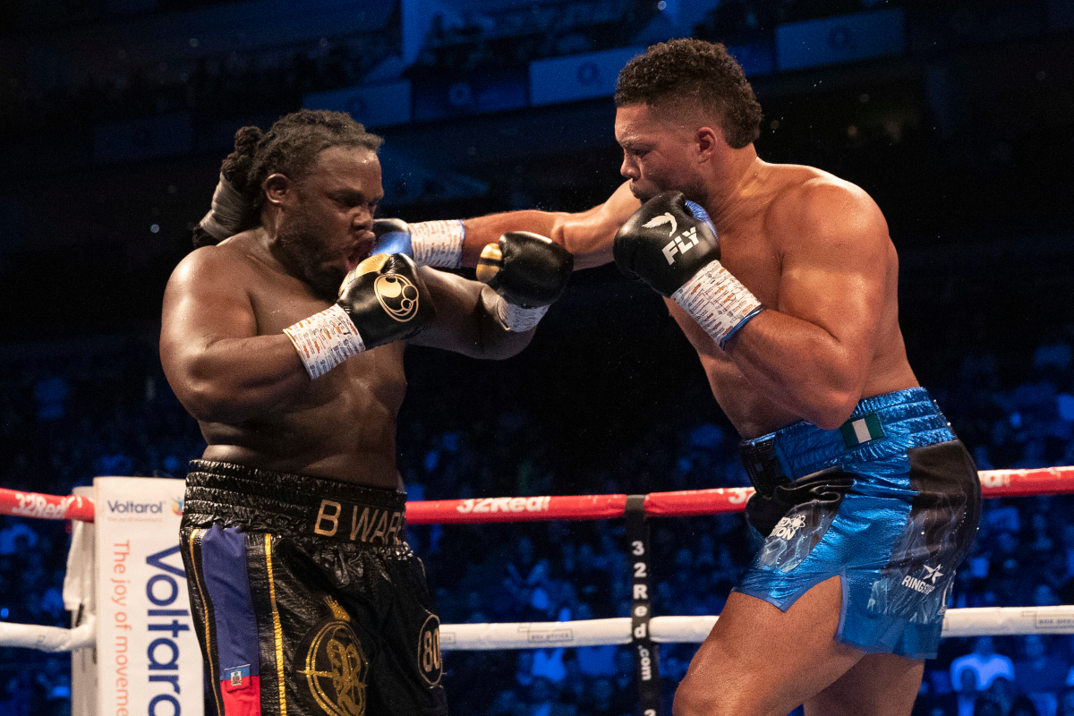 Joyce Hammers Stiverne In 6/Selby Defeats Douglas