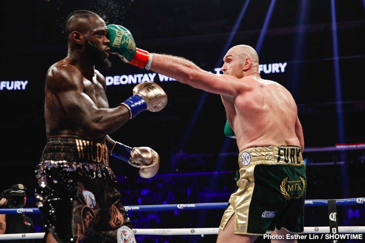 SecondsOut Boxing News - Main News - Deontay Wilder vs Tyson Fury ...