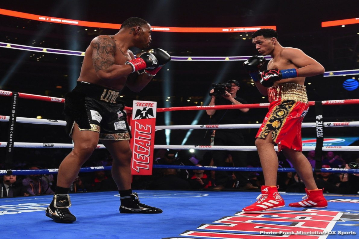 David Benavidez Takes Out J'Leon Love In Arlington