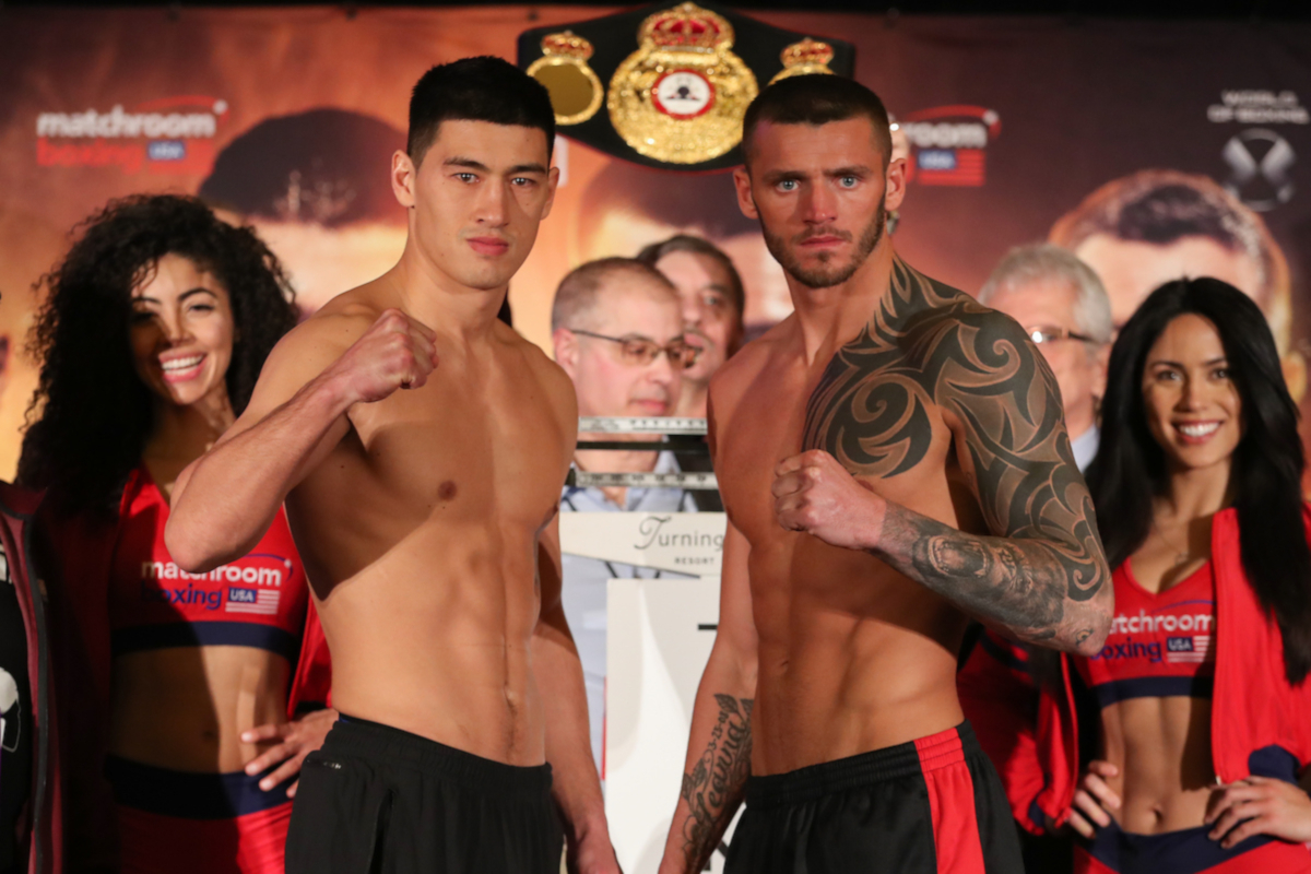 Dmitry Bivol And Joe Smith Jr Make Weight In Verona