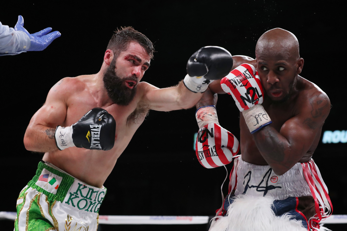 Full Report: Tevin Farmer Edges Jono Carroll,Katie Taylor Ko's Rose Volante In Philly