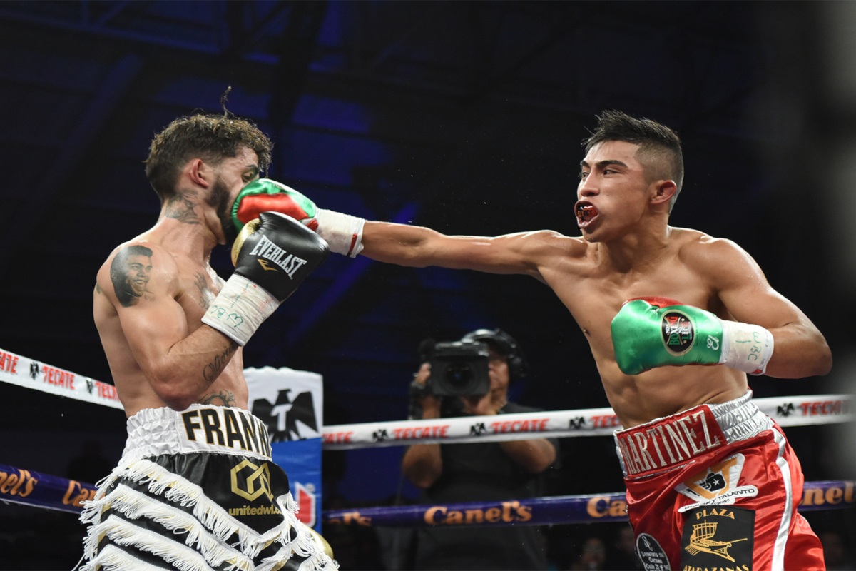 Julio Martinez Stuns Andrew Selby In Title Eliminator