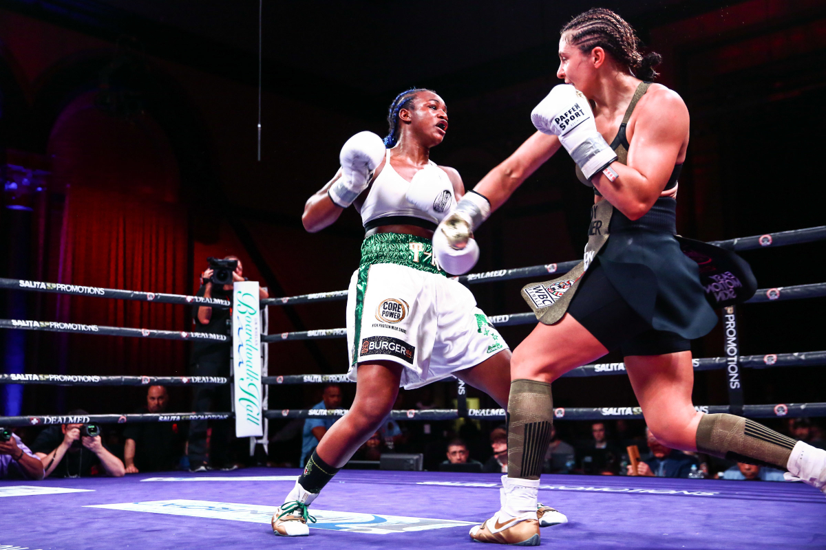 Claressa Shields Hammers Christine to become undisputed champ