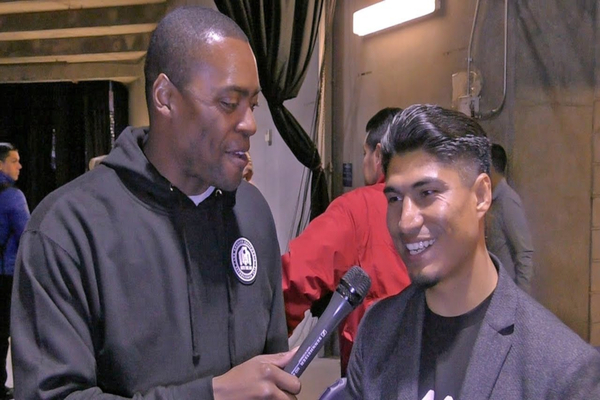 Mikey Garcia expects fair judging against local hero Errol Spence