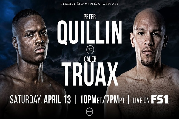 Peter Quillin Vs Caleb Truax Ends In No Decision