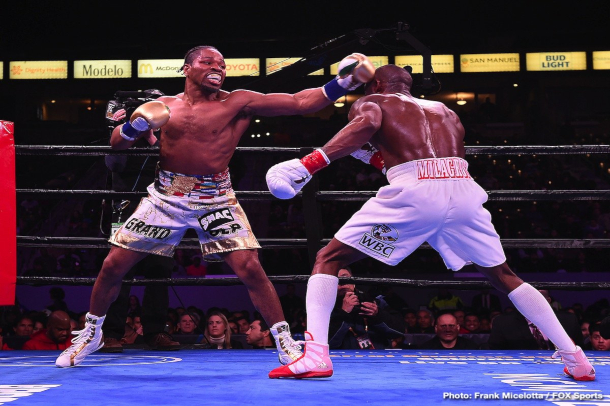 Shawn Porter Edges Out Yordenis Ugas In Carson