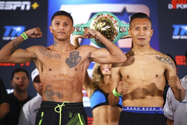 Weigh-in results take two: Miguel Berchelt vs. Francisco Vargas - Emanuel Navarrete vs. Issac Dogboe