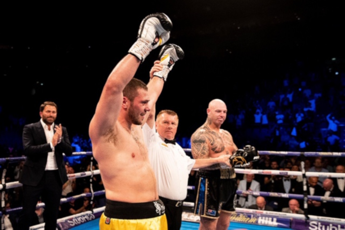 Dave Allen Takes Out Lucas Browne/ Dereck Chisora  Returns With A Win