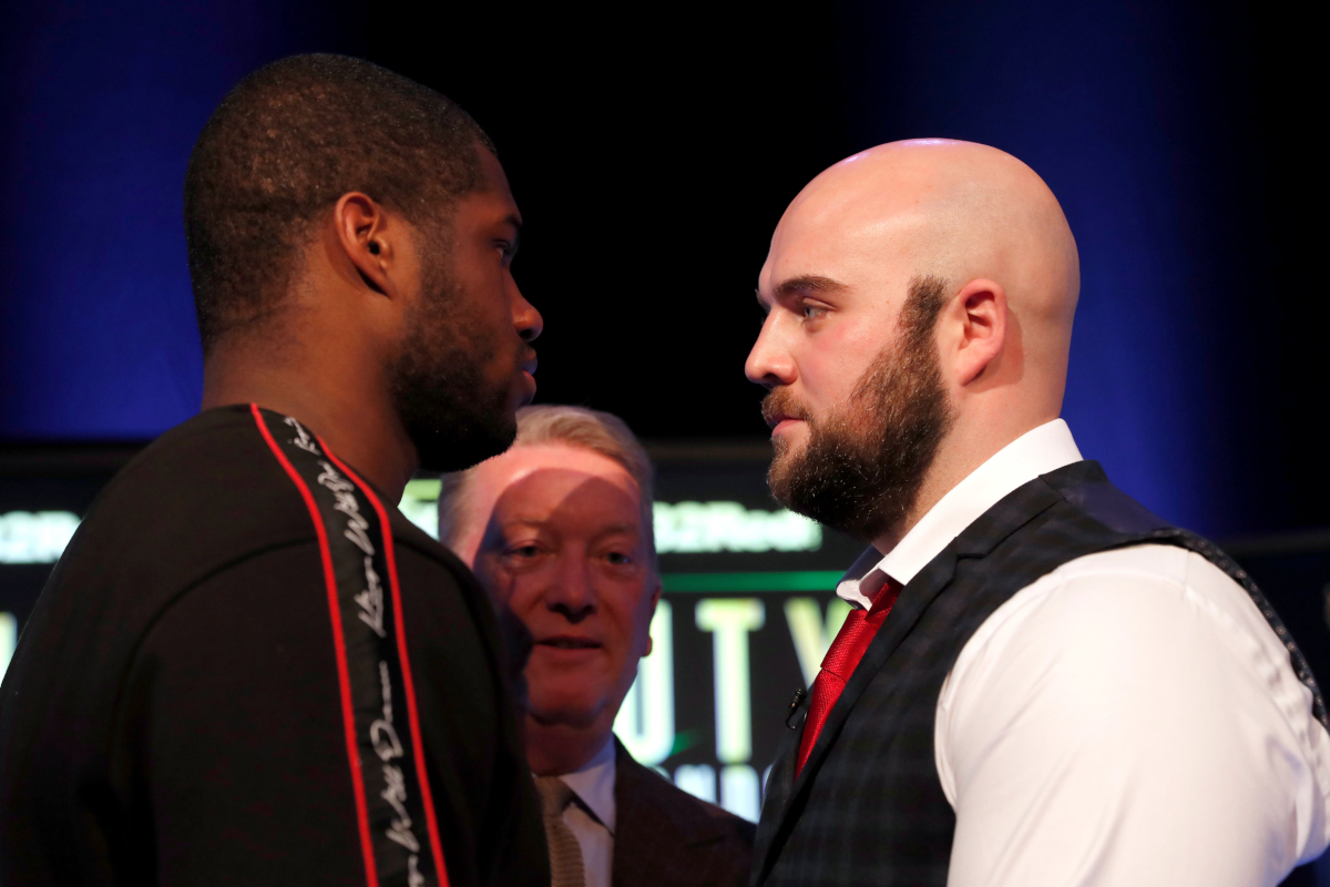 Dubois vs Gorman