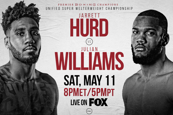 Julian J-Rock Williams the new unified champion after upsetting Jarrett Hurd