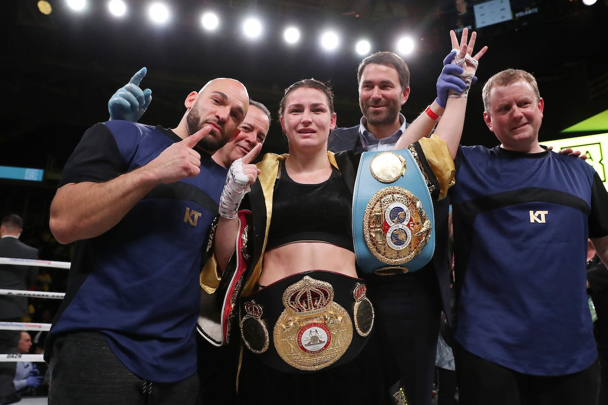 Katie Taylor Faces Delfine Persoon For Undisputed Lightweight Title