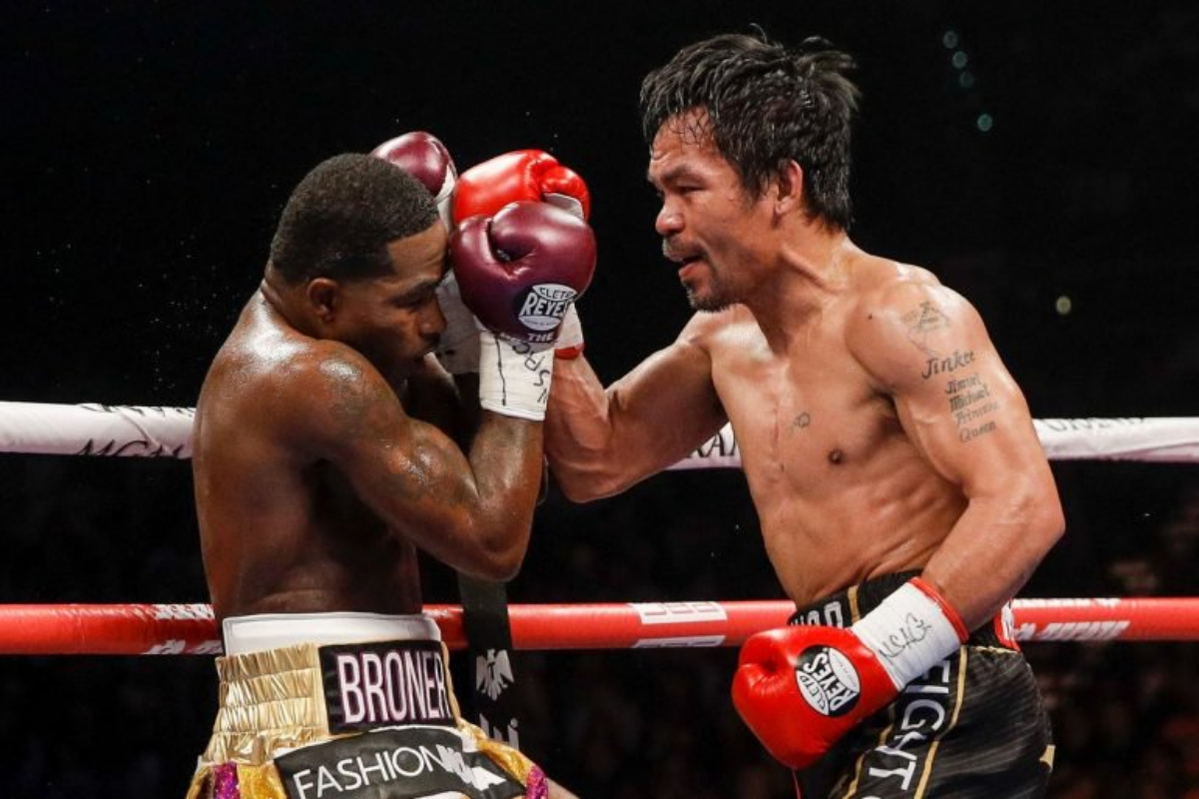 Manny Pacquiao vs Adrien Broner via Showtime Boxing