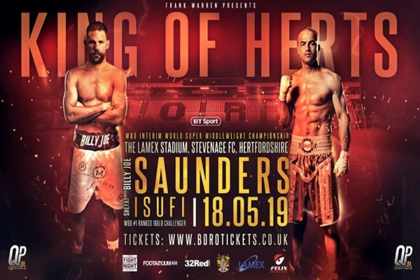 Billy Joe Saunders wins easy decision over Shefat Isufi