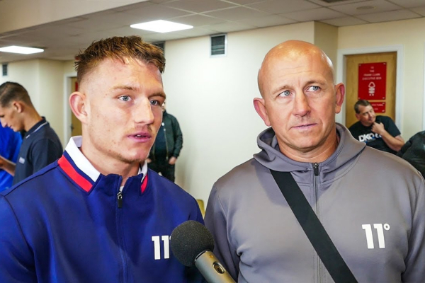 WATCH EXCLUSIVE: How Lee McGregor joined Grant Smith after leaving the McGuigans