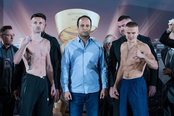 Weight made: Josh Taylor and Ivan Baranchyk ready for war