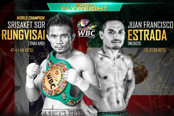 Repeat or revenge: Srisaket Sor Rungvisai and Juan Francisco Estrada meet again