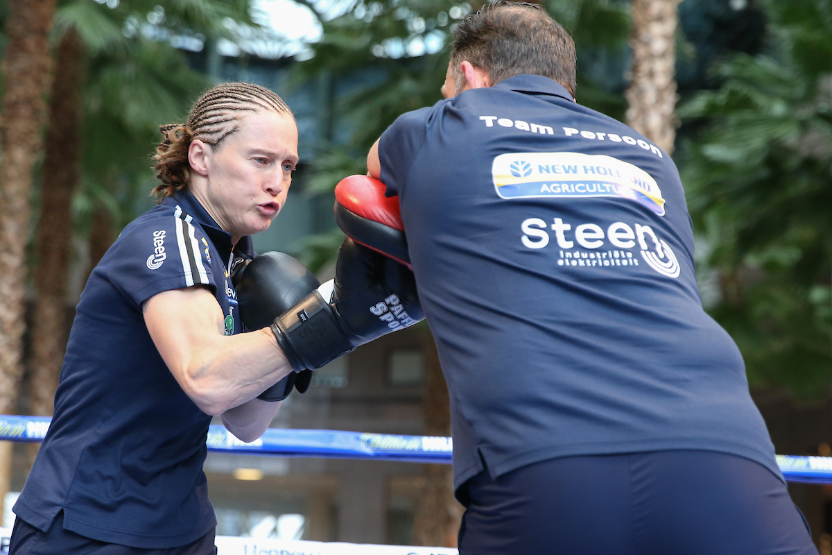 Delfine Persoon by Ed Mulholland/Matchroom Boxing