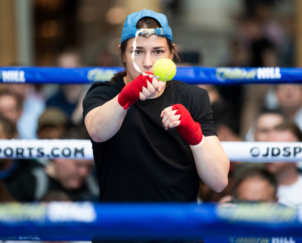 Katie Taylor by Mark Robinson/Matchroom Boxing