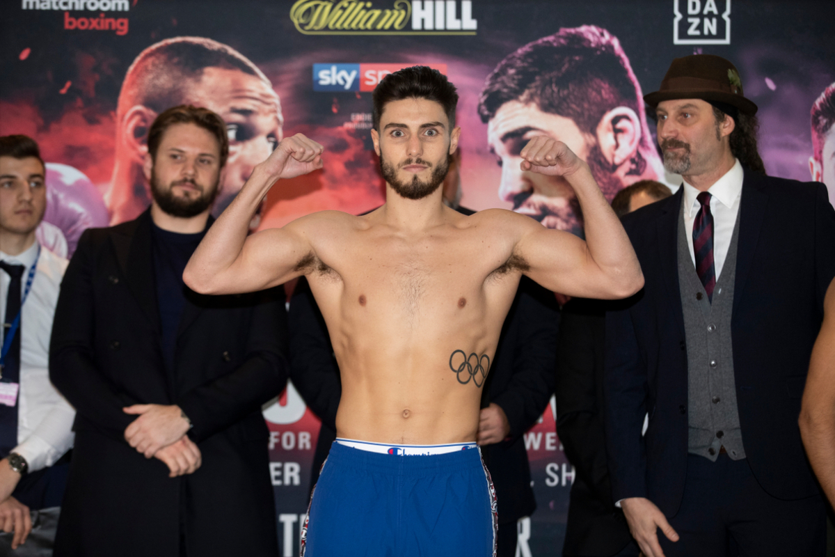 Josh Kelly by Mark Robinson/Matchroom Boxing