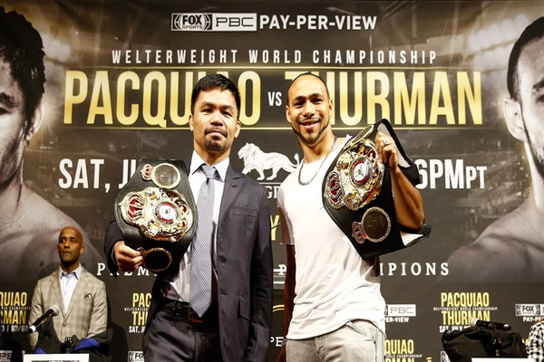 Manny Pacquiao vs Keith Thurman or Errol Spence vs Shawn Porter?