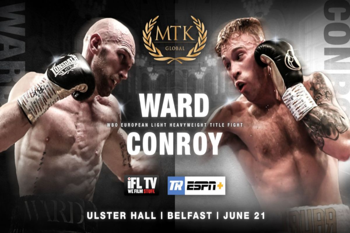 SecondsOut Boxing News - Main News - Steven Ward vs Liam Conroy