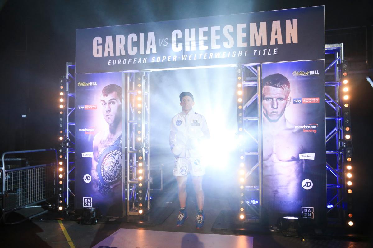 Ted Cheeseman by Mark Robinson/Matchroom