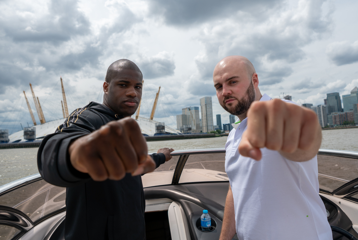 Nathan Gorman is moving on from old rival Daniel Dubois