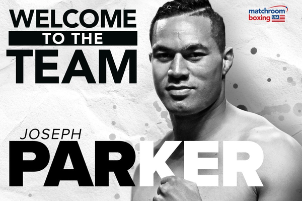 Eddie Hearn signs Joseph Parker for Matchroom Boxing, predicts 'huge fights' ahead
