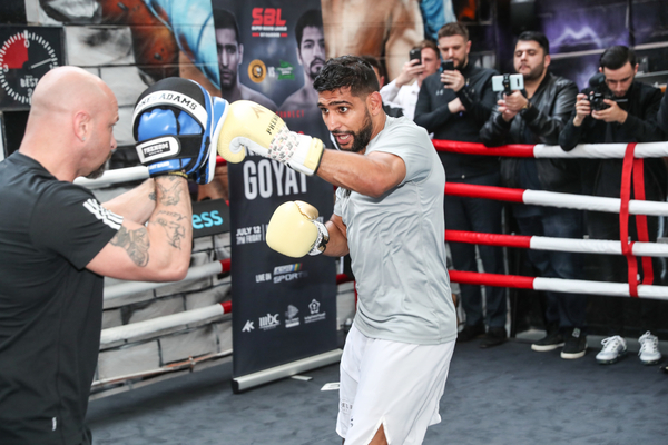 Amir Khan wants Manny Pacquiao fight after Neeraj Goyat