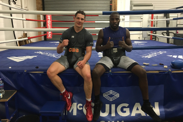 Lawrence Okolie: 3 reasons why I'm happy he joined my gym, reveals Chris Billam-Smith