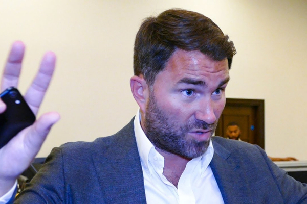 Eddie Hearn Exclusive: Anthony Joshua does not have to retire if he loses again; 5 years left (video)