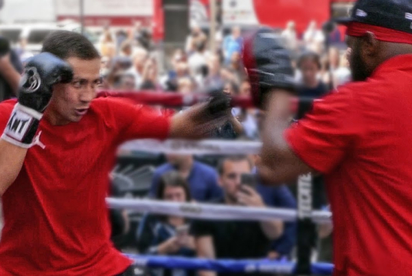 GGG Gennady Golovkin displays renewed speed under new trainer Johnathon Banks (video)