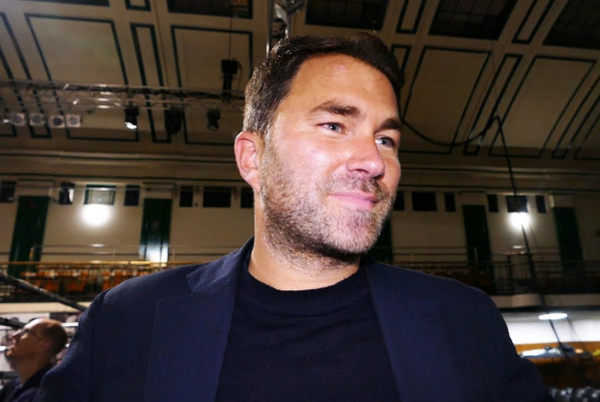 'Anthony Joshua sold 20k tickets, Tyson Fury only 5k, AJ still the biggest draw', says Eddie Hearn (video)
