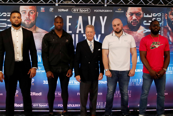 Bryant Jennings saw Joshua vs Ruiz upset coming & all the best Heavy Duty press conference quotes